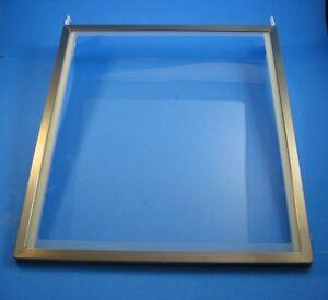 WPW10493521 W10493521  Whirlpool KitchenAid Refrigerator Glass Shelf; J2c