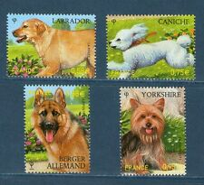 SERIE DE TIMBRES 4545-4548 NEUF XX LUXE - LES CHIENS - SERIE NATURE