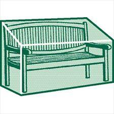 3 - 4 Seater Garden Bench Cover Laminated Woven Polyethylene Cover, UV Stabilise