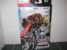 Marvel Universe Comic Packs Black Costume Spider-Man and Dr. Doom Two Pack