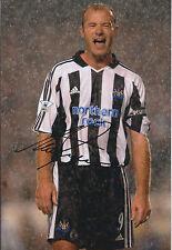 Alan SHEARER Signed Autograph 12x8 Photo AFTAL COA Newcastle United Legend RARE