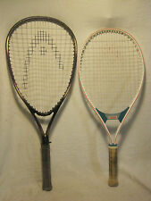 2 x Head pre-owned Tennis Racquet racquets Tournament & Lite Constant racket