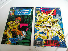 LOT 2* IMPACT COMICS * THE WEB *1992 # 8. &  # 9.   F/F TO V/F