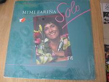 """MIMI FARINA 1985 """"solo"""" NEW/SEALED ORIGINAL US ISSUE PHILO FOLK LP"""