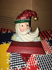 Midwest Cannon Falls Imports Cast Iron Stocking Holder Santa Hat Cloud Stars