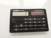 Vintage CASIO Solar Credit Card Calculator SL-760LU JAPAN