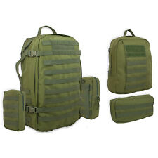 Bulldog Lycan Military Army MOLLE Rucksack Backpack Daysack Pack 55L OD Green