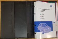 VW NEW BEETLE HANDBOOK OWNERS MANUAL WALLET 2005-2010 PACK E-511