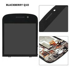 OEM For Blackberry Q10 Replacement LCD Touch Screen Motor Earpiece Front Black