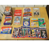 Lot of Assorted Baseball Cards From the 80's & 90's