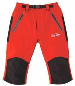 Sale Evergreen Rain Pants Stretch Cropped Size L Red (7118)