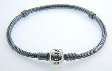 """Pandora Oxidized  Bracelet 9.1""""  590702OX  NEW"""