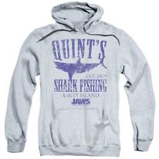 Jaws Movie Retro 70's Quints Shark Fishing Amity Island distressed hoodie Uni413