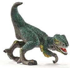 """Schleich® Urzeittiere 14598  """"Velociraptor, Mini"""",  NEU mit Schleich® - Fähnchen"""