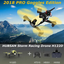 HUBSAN X4 H122D PRO FPV Storm Racing Drone W/ 720P HD Camera Goggles LCD Display
