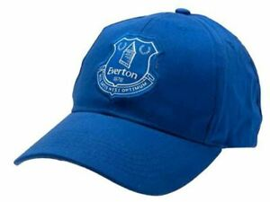 Everton FC Baseball Cap Style Blue With Club Crest Football Gift