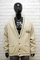 Maglione Andrea Del Corso Cardigan Uomo XL 3XL Pullover Felpa Sweater Vintage