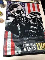 DC Comics The Comedian Wants You Watchmen Movie Wall Hanging