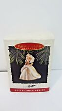 Christmas Hallmark Ornament Barbie Doll Holiday Collector Series #2 1994 Gown
