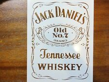 Jack Daniels Stencil FAST FREE SHIPPING v2