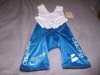 Mens Nalini Team Banesto cycling bib shorts size xl xxl.New with tags