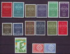 sellos Europa CEPT 1959 completo MNH**