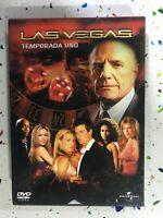 Le Vegas Prima 1° Stagione 1 Universal Spagnolo Inglese 6 X DVD Am