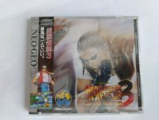 NEO GEO CD FATAL FURY 3 (road to the final victory) SNK NEOGEO NUOVO