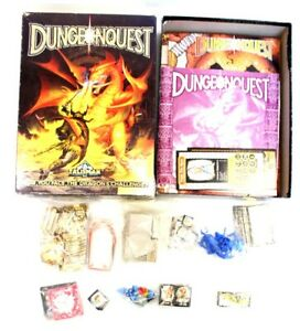 1987 GAMES WORKSHOP DUNGEONQUEST Talisman Board Game BOXED - C12