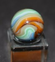 """Handpicked JABO Marble Multi-Color Swirl, Shooter, Size, .718=23/32"""" MINT!"""