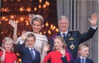 ~~~ ORGINAL~~~ POSTKARTE ~~~ aus Belgien Königin Mathilde