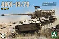 Takom Models 1/35 AMX-13/75 IDF Light Tank Plastic Model Kit 2036