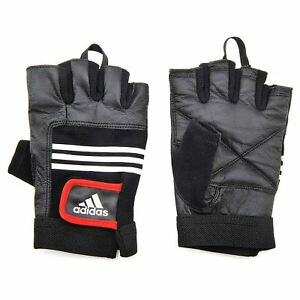 Adidas Leather Weight Lifting Gloves L/XL