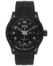 MIDO MULTIFORT AUTOMATIC DAY/DATE PVD AUTOMATIC MENS WATCH M0184303705280 $1,150