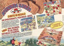 X1459 I Frollini di Nonna Papera - Accornero - Pubblicità del 1990 - Vintage ad