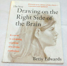 Drawing Right Side Brain New Betty Edwards Art Textbook 1999 PB Homeschool Tutor