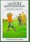 Golf Quotation Book: A Clubhouse Companion By Michael Hobbs