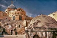 105359 Church of Holy Sepulchre Old Jerusalem Israel Decor LAMINATED POSTER US