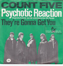 "Single 7"" COUNT FIVE ""PSYCHOTIC REACTION/They 're Gonna Get You"""