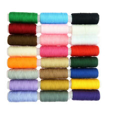 24 Colors 203 Sewing Thread Cord Hand and Machine for Leather Caft Stitching