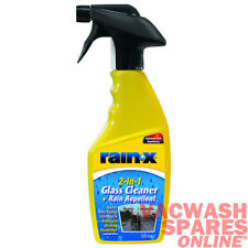 RAIN X 2 IN 1 RAIN REPELLENT AND GLASS CLEANER - IMPROVE VISIBILITY - WATER BEAD