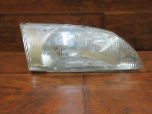 Mazda 626, 1998, 1999, Right Passenger Headlight