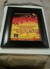Erasure Irving Plaza Nyc Concert Promo Ad Framed! Printed Once!