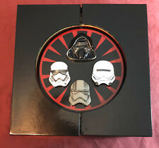 Star Wars: The Force Awakens Limited Edition of 1000 Collectable Pin Set