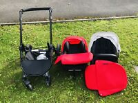 Ickle Bubba Stomp V3 Car seat, Pram And isofix base