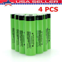4PCS Panasonicc NCR 18650B HIGH DRAIN 3400mAh Rechargeable Li-ion 1Vape Battery
