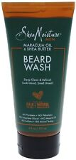 Shea Moisture Men Maracuja Oil - Shea Butter Beard Wash 6 oz (Pack of 2)