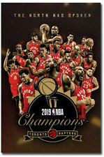 "The Toronto Raptors Win 2019 NBA Championship Fridge Magnets Size 2.5"" x 3.7"""