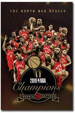 "The Toronto Raptors Win 2019 NBA Championship Fridge Magnets Size 2.5"" x 3.7"""