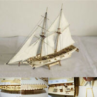 Ship Assembly Model DIY Kits Wooden Sailing Boat Decoration Wood Toy Gift 2018